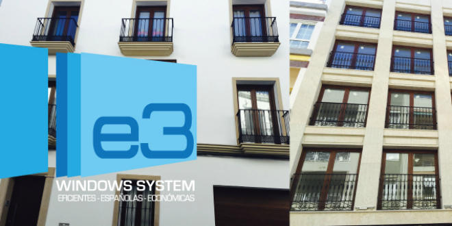 Ventana de PVC E3. cuánto ahorran las ventanas eficientes