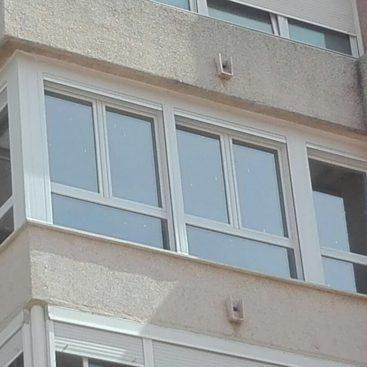 Cierre de una terraza con Ventanas de PVC