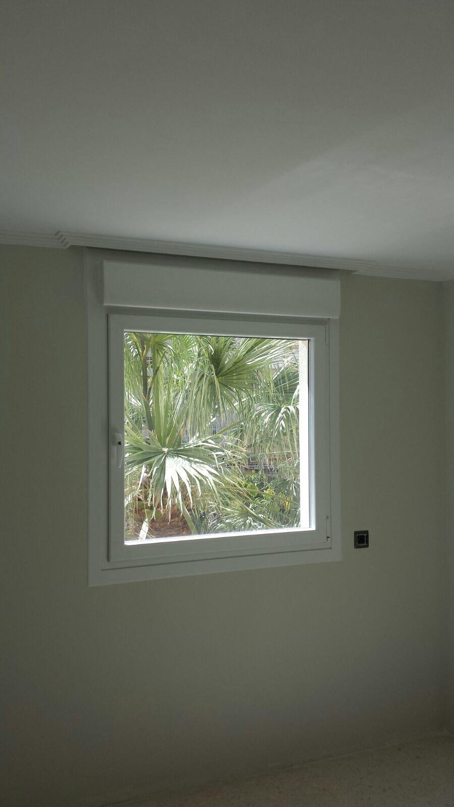 Instalación de ventana oscilobatiente
