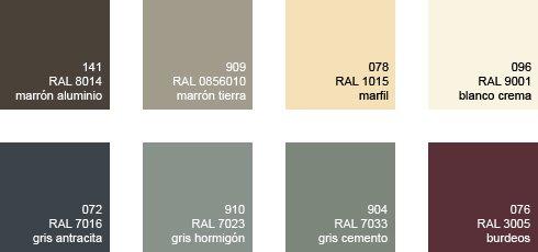 Colores estándar omniral