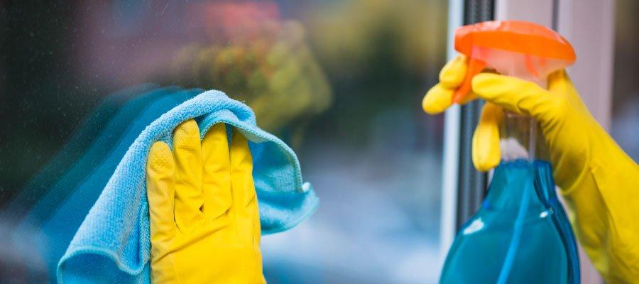 ventanas PVC limpieza