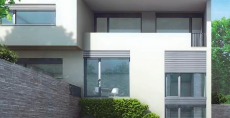 Ventanas de PVC con persianas